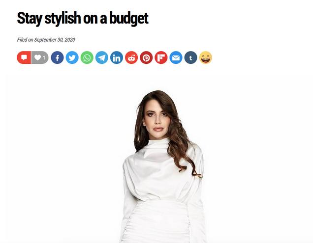 Stay stylish on a budget