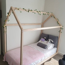 Basic house bed frame