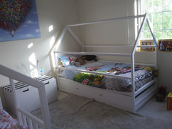 House bed with storage
