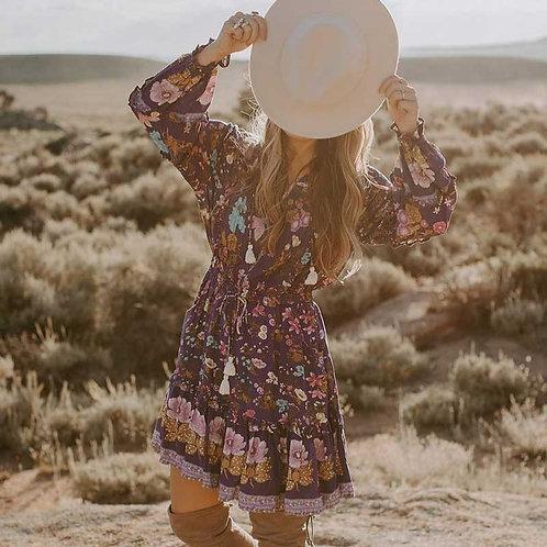 The Mexican: Blue Mini Dress