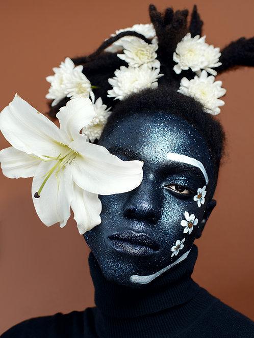 """Adam Series"" (Flower Over Eye)"
