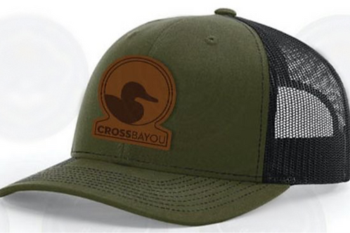 Cross Bayou Leather Patch Hat