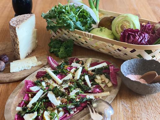 Salade au Persillé des Aravis