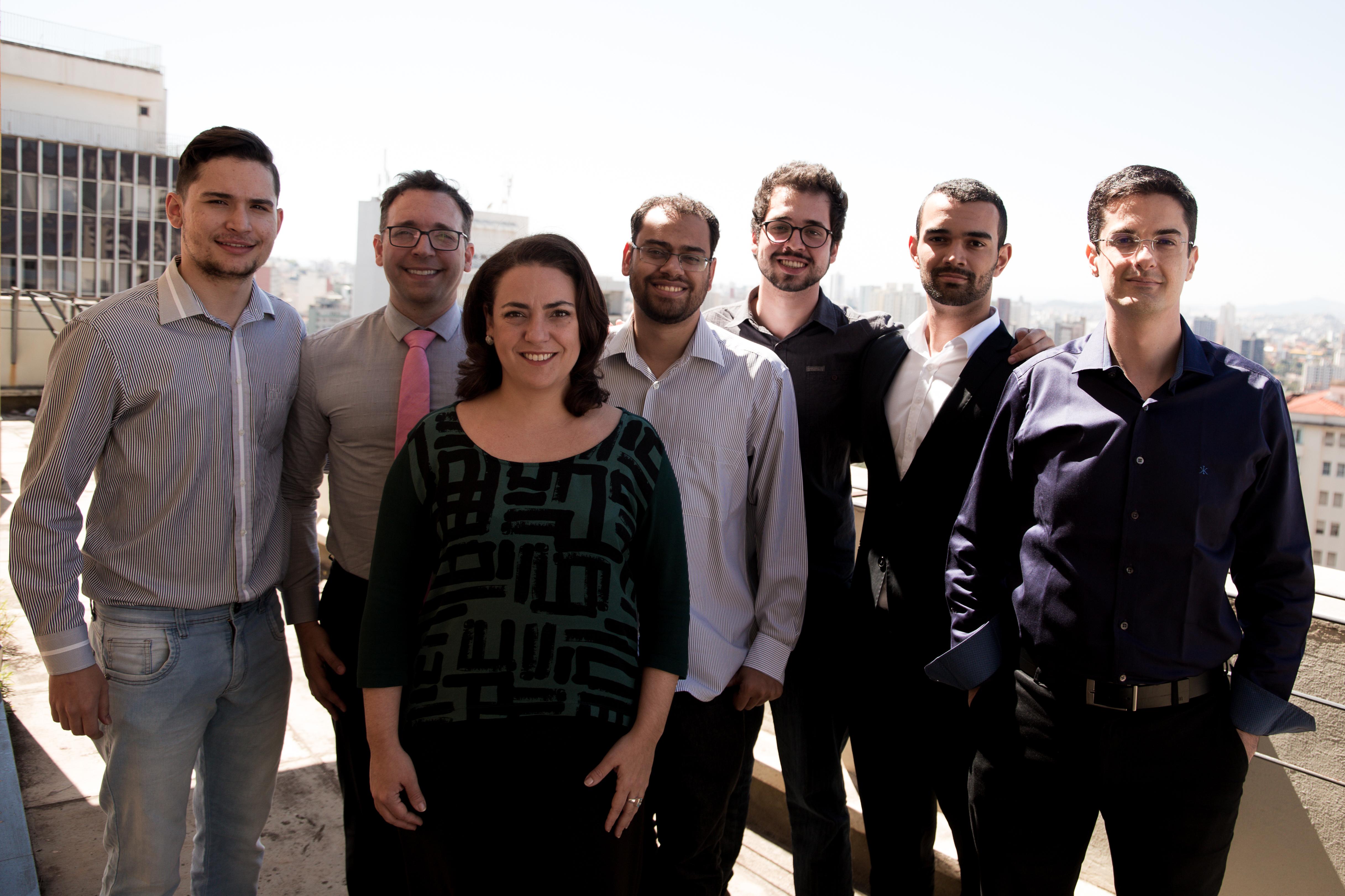 Equipe de fundadores do DTI