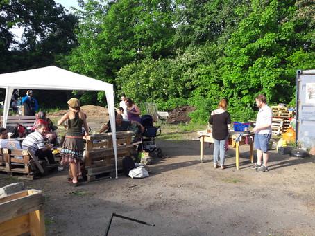 Ein weiterer erfolgreicher Gartennachmittag im Finkennest