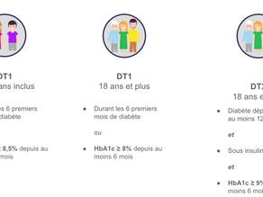 Les critères d'inclusion des patients diabétiques dans le programme ETAPES