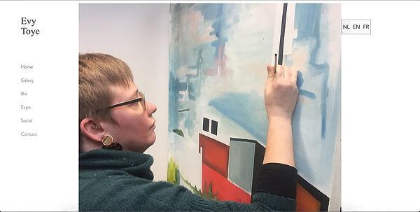 Evy Toye schilderkunst