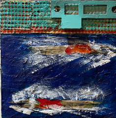 SHIPS PASSING IN THE NIGHT 6x6