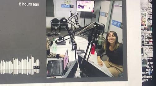 Radio interview to The Stooge singer Veronica Zaiter