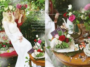 Schneeweißchen & Rosenrot, das Photoshooting ... und ein blütenzarter Schoggikuchen!
