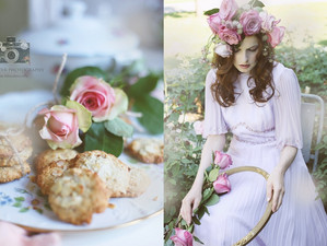 Die Rosenzüchterin und ihr Rezept für feine Dinkel- Honig Kekse ...