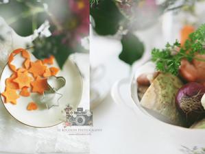 Grosi Klara' s (Walliser -) Gemüsesuppe mit Sternen/ Herzchen - Rüebli