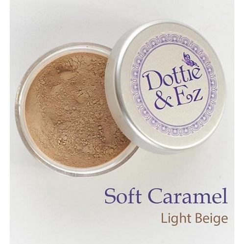 Mineral Foundation Powder - Soft Caramel