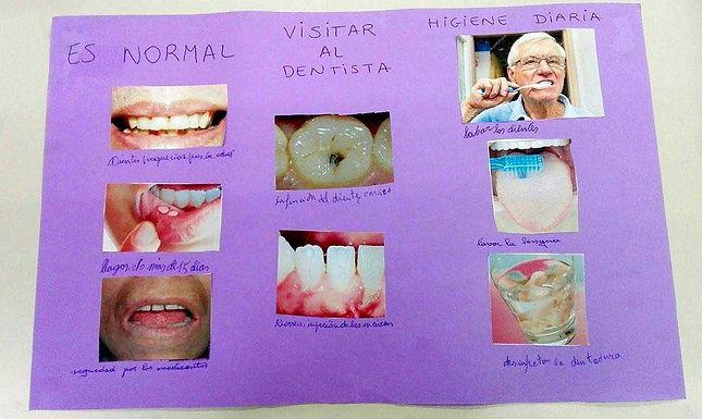 Aprenent sobre les dents i la higiene bucal