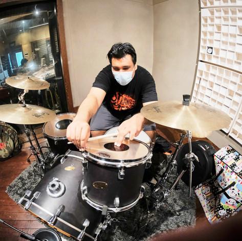 Drum Recording @ Greenroomsuite