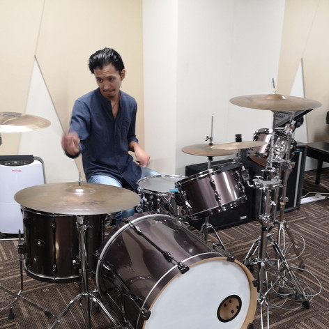 Qush on Drums