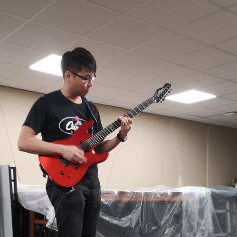 Eugene on Guitar