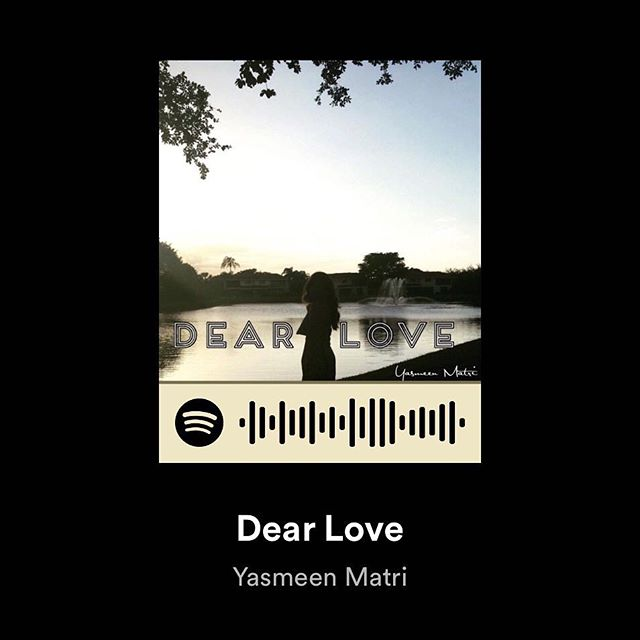 Hey everyone! I'm so excited to share with you all that my new song I wrote _Dear Love_