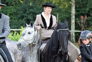 Feria in Odenheim mit Damensattel und Handpferd