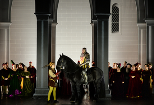 Atse in der Oper Hercules am Nationaltheater Mannheim