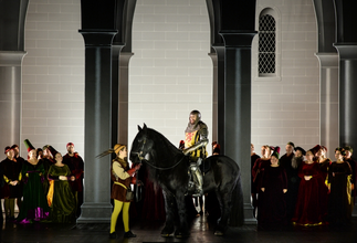 Atse in der Oper Hercules am Nationaltheater Mannheim