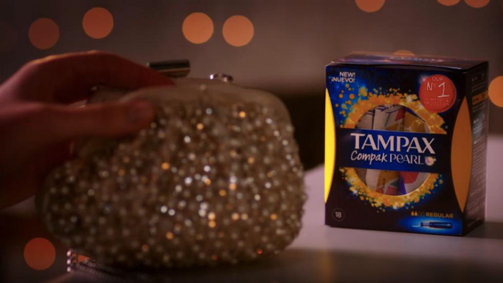 Tampax Compak Pearl Night