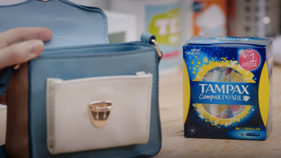 Tampax Compak Pearl Day