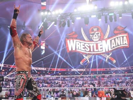 Edge makes history at WWE Royal Rumble