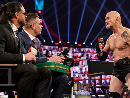 Gillberg emotional after appearance on WWE Raw