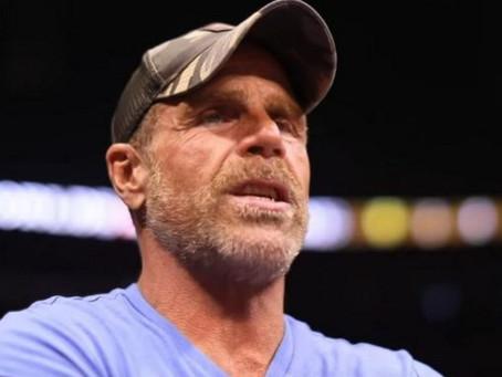 Shawn Michaels challenges Freddie Flintoff and Tom Davis to WWE battle