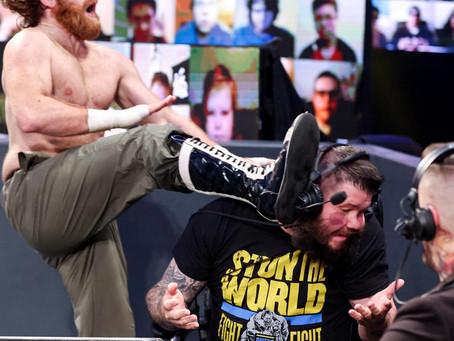 SmackDown Results 19/3/21: Zayn turns on Owens, Edge battles Uso