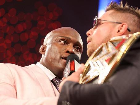 Raw Results 22/2/21: Lashley lays down challenge to Miz