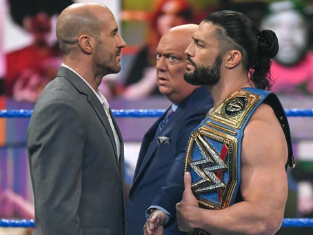 SmackDown Results 17/04/21:  Roman Reigns confronted by Cesaro
