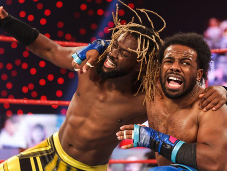 Raw Results 15/3/21: The New Day win tag team titles