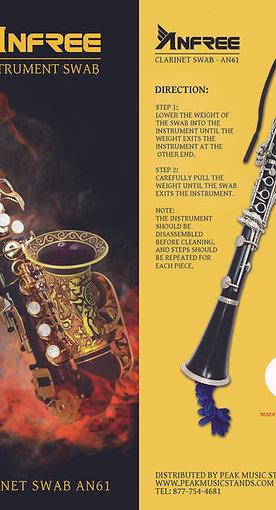 Clarinet Swab