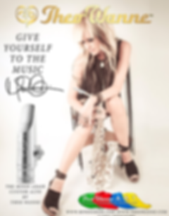 Theo Wanne Endorser Mindi Abair's Signature Alto Mouthpiece at TheWedge Distribution