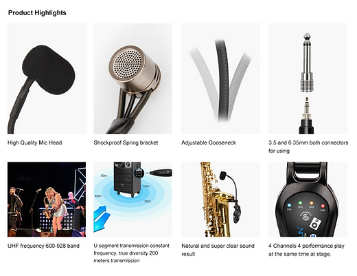 KM-U308-A High End Instrument Microphone atThe Wedge Distributon 4