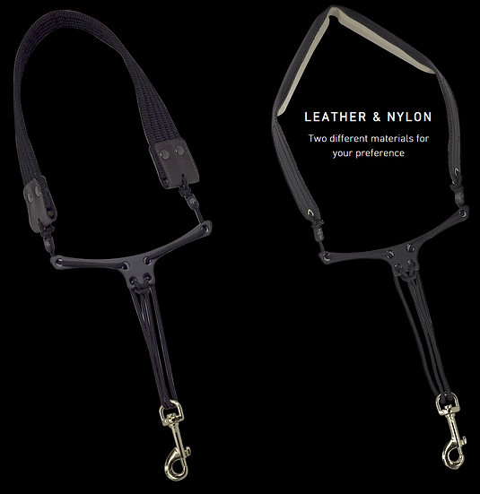 Forestone Sax Straps - Leather and Nylon