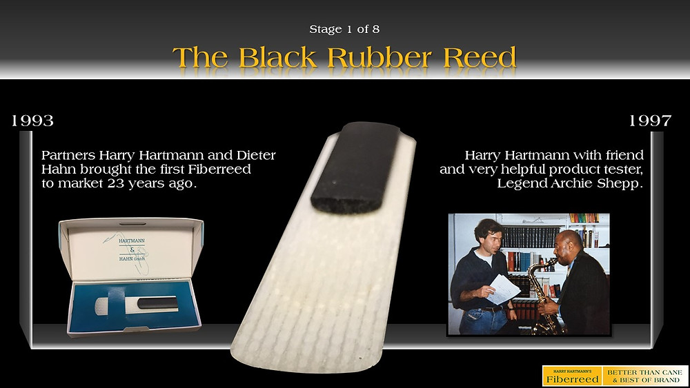 Fiberreed's First Reed - The Black Rubber Reed