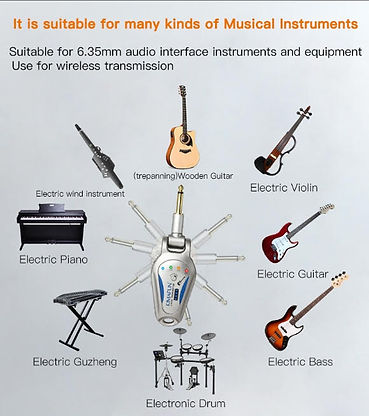KM-G207 Electric mic (guitar, piano, drum, etc) at The Wedge Distributon 3