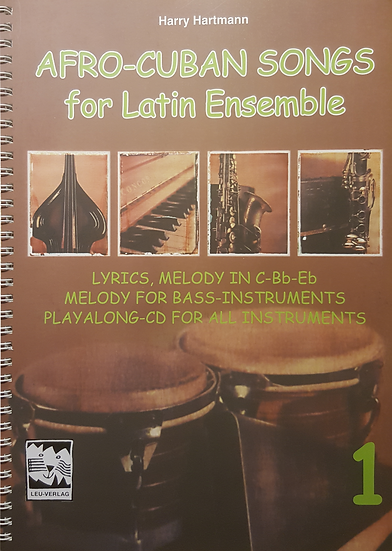 Afro-Cuban Songs for Latin Ensemble