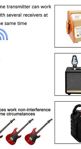 KM-G207 Electric mic (guitar, piano, drum, etc)