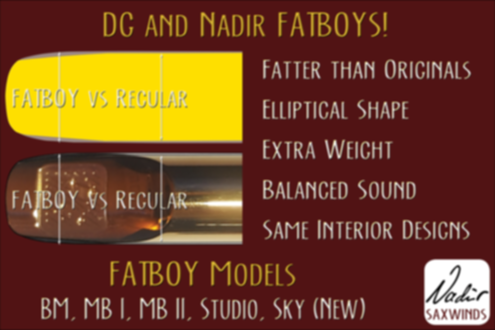 Nadir Saxwind DG (Dave Guardala) FatB`oy Models at The Wedge Distribution