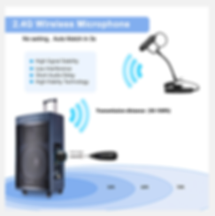 KM-G150-3 Wireless instrument microphone at The Wedge Distribution 2