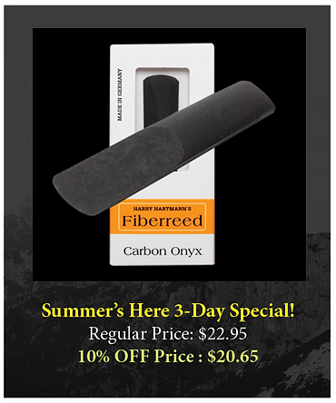 Carbon Onyx Reed - Summer's Here Special - The Wedge Distribution