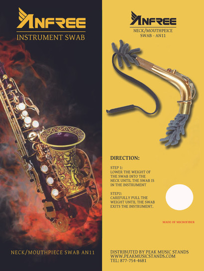 Anfree Neck / Mouthpiece Swabs