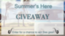 Summer's Here GIVEAWAY - The Wedge Distribution