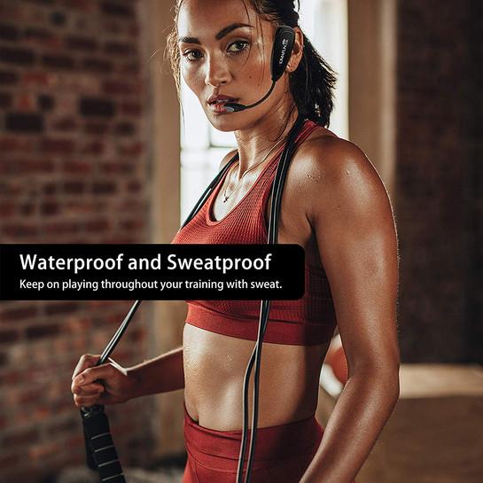 KM-G100-1 Fitness Microphone Headset