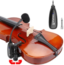 KM-CX220-3 Violin Microphone at The WedgeDistributon 1
