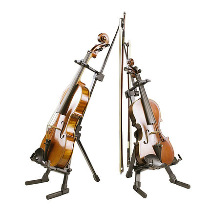 Violin - Viola Stand at The Wedge Distribution